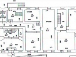 Лот № 2722, Особняк «Городская Усадьба», Аренда офисов в ЦАО - План