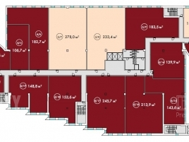 Лот № 2743, МФК «RiverDale», Продажа офисов в ЮАО - План