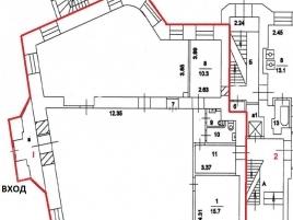 Лот № 2753, Аренда офисов в ЦАО - План