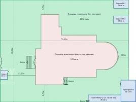 Лот № 2791, ОСЗ на М. Андроньевской, Аренда офисов в ЦАО - План