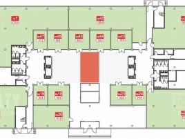 Лот № 2958, Сириус Парк, Продажа офисов в ЮАО - План