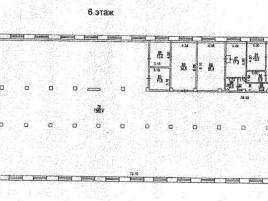 Лот № 3045, БЦ Вымпел, Аренда офисов в САО - План