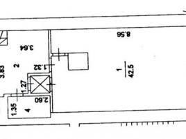 Лот № 3058, Продажа офисов в ЦАО - План