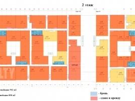 Лот № 3107, Верейская Плаза III, Аренда офисов в ЗАО - План