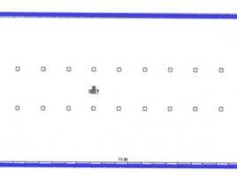 Лот № 313, БЦ Вымпел, Аренда офисов в САО - План