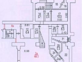 Лот № 3198, Аренда офисов в САО - План