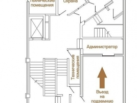 Лот № 3262, Аренда офисов в ЦАО - План