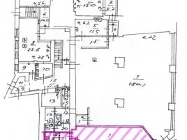 Лот № 3296, Продажа офисов в ЦАО - План