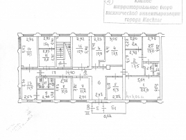 Лот № 3351, Продажа офисов в ЮАО - План