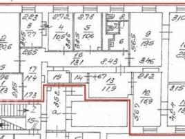 Лот № 3386, Аренда офисов в ЮЗАО - План