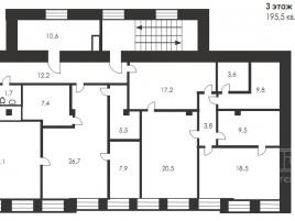 Лот № 3410, Продажа офисов в ЦАО - План
