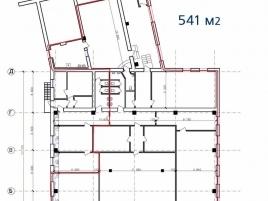 Лот № 3413, МФК Касаткина 11, Аренда офисов в СВАО - План