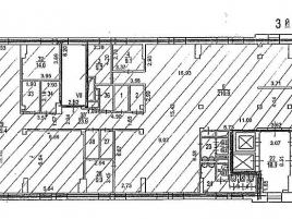 Лот № 3426, Особняк на улице Новая Площадь, Аренда офисов в ЦАО - План