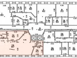 Лот № 3469, Бизнес-парк Новоспасский двор, Аренда офисов в ЦАО - План
