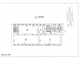 Лот № 3472, Аренда офисов в ЦАО - План
