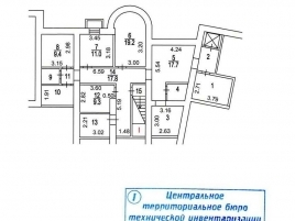 Лот № 3489, Аренда офисов в ЦАО - План