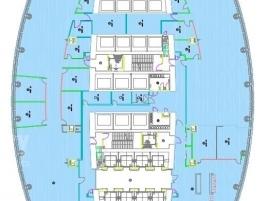 Лот № 3506, «Башня на набережной», Аренда офисов в ЦАО - План