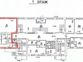 Лот № 3532, БЦ Святогор-1, Аренда офисов в ЦАО - План