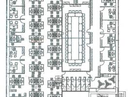 Лот № 3549, Бизнес-центр Лефорт, Аренда офисов в ВАО - План
