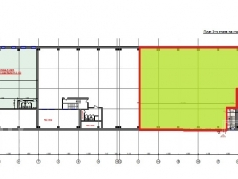 Лот № 3623, МФК Касаткина 11, Аренда офисов в САО - План
