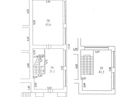 Лот № 3706, БЦ Туполев-Плаза, Аренда офисов в ЦАО - План