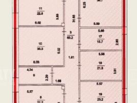 Лот № 3780, Бизнес-центр Буревестник, Аренда офисов в ВАО - План