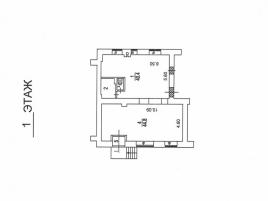 Лот № 3805, Продажа офисов в ЦАО - План