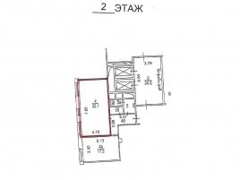 Лот № 3821, Бизнес-центр Саввинский, Аренда офисов в ЦАО - План