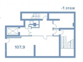Лот № 3878, Элитный Жилой квартал «Wine House», Продажа офисов в ЦАО - План