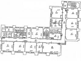 Лот № 3887, Бизнес-центр Кольская, 2, Аренда офисов в СВАО - План