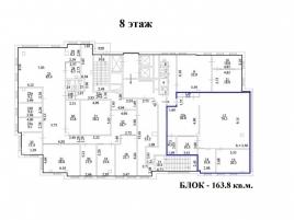 Лот № 3921, БЦ Центр Юнион, Аренда офисов в ЮВАО - План