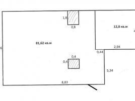 Лот № 4045, БЦ Ирбис, Аренда офисов в ЗАО - План