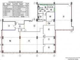 Лот № 4061, Бизнес- Центр Трио, Продажа офисов в САО - План
