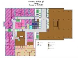 Лот № 4099, Торгово-деловой центр Смоленский пассаж, Аренда офисов в ЦАО - План