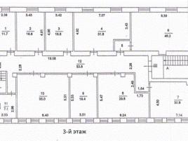 Лот № 409, Аренда офисов в ВАО - План