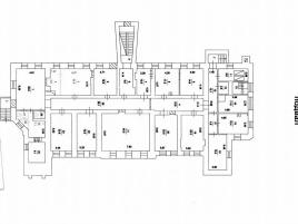 Лот № 4107, Особняк на Смоленской, Аренда офисов в ЦАО - План