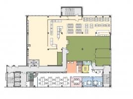 Лот № 4163, Бизнес-центр Квадрат, Аренда офисов в ЗАО - План