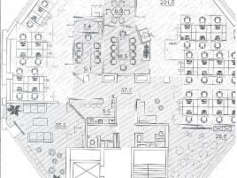 Лот № 4308, Бизнес Центр Трёхпрудный, Аренда офисов в ЦАО - План