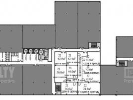 Лот № 4314, Бизнес-центр West Plaza, Продажа офисов в ЮЗАО - План