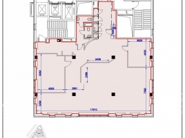 Лот № 4342, БЦ Riverside Towers, Аренда офисов в ЦАО - План