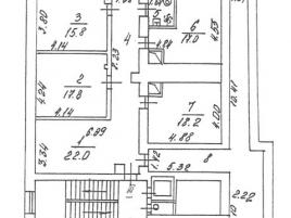 Лот № 4368, Аренда офисов в ЦАО - План