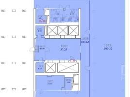Лот № 4393, Бизнес-центр Смольный, Аренда офисов в САО - План