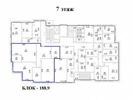 Лот № 4419, БЦ Центр Юнион, Аренда офисов в ЮВАО - План