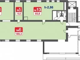 Лот № 4646, Сириус Парк, Продажа офисов в ЮАО - План