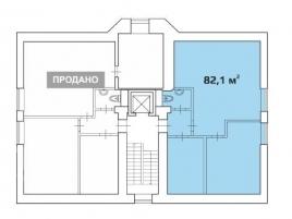Лот № 4661, Продажа офисов в ЦАО - План