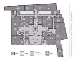 Лот № 4672, БЦ Каланчевская Плаза, Аренда офисов в ЦАО - План