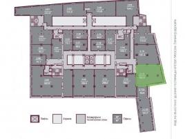Лот № 4673, БЦ Каланчевская Плаза, Аренда офисов в ЦАО - План