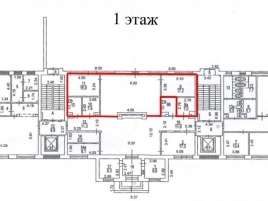 Лот № 4700, БЦ Донской, Аренда офисов в ЦАО - План