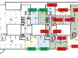 Лот № 4728, Гостинично-деловой центр Парк Победы, Продажа офисов в ЗАО - План