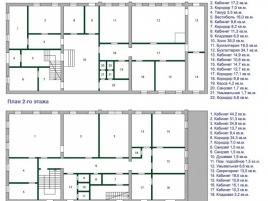 Лот № 4762, Продажа офисов в ЦАО - План